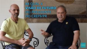 Magnus entrevistando Branco presidente do Cref-pr